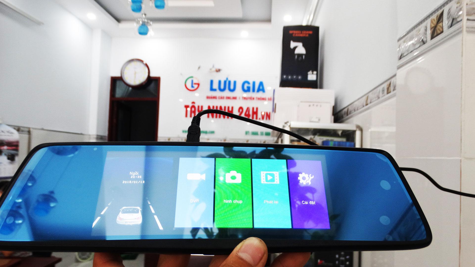 Camera hành trình Gương LG Smart Life G7 - Ghi hình trước sau - sieuthitayninh.vn